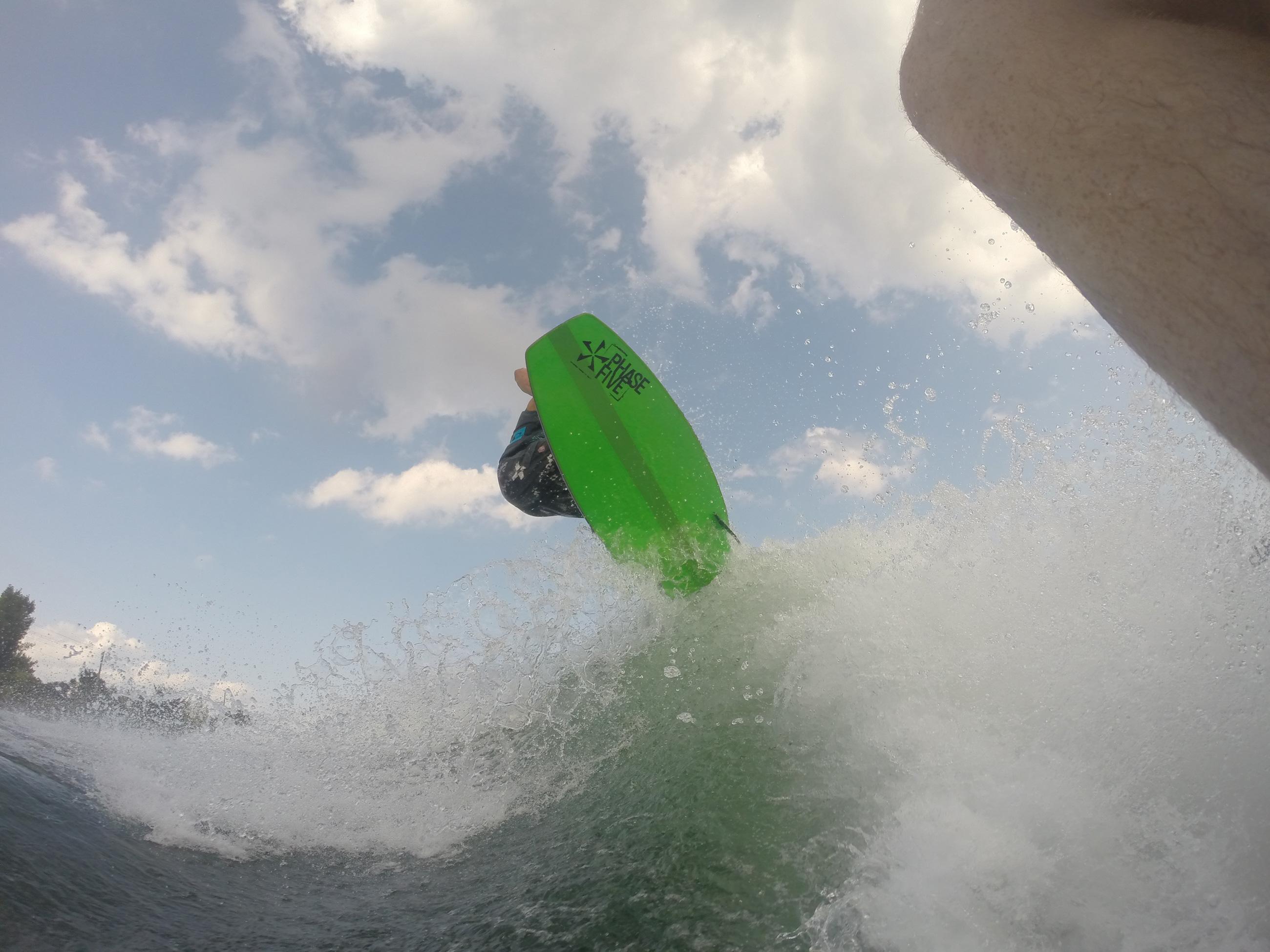 Leçons de wakeboard et de surf